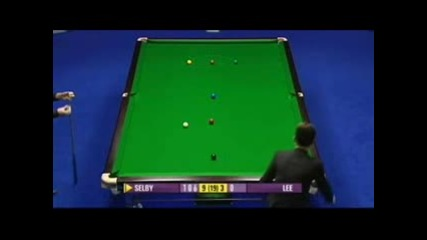 Mark Selby Makes 141 On Master 2008