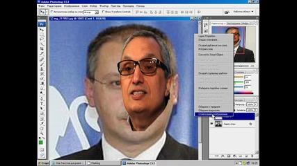 Как се сменят лица с Photoshop (видео урок)