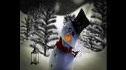 Снежният Човек Пее Весела Коледа