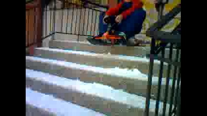Яко спускане по стълби