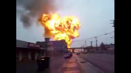 Експлозия на резервоар