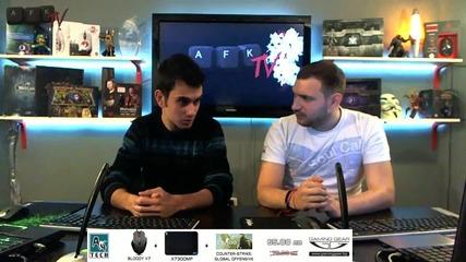 Интервю с Etien - играч по Pro Evolution Soccer - Afk Tv Еп. 15 част 2