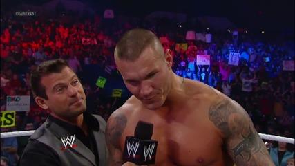 Rey Mysterio, Sin Cara & Randy Orton vs. The Prime Time Players & Alberto Del Rio_ Wwe Main Event