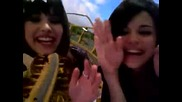 Selena and Demi - Rollar coster