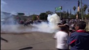 Mexico: Teachers clash with Oaxaca riot police over new education law