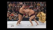 Wrestlemania 21 Big Show vs Akebono Sumo Fight