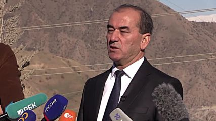 Tajikistan: President launches first turbine of Rogun hydroelectric dam