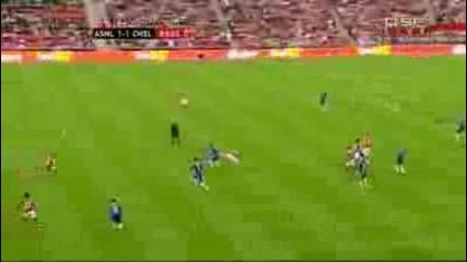 Фа къп!!!! Арсенал - Челси 1 - 2 гол на Малуда
