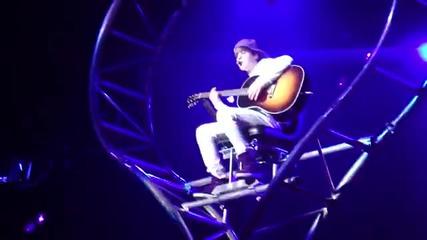 Justin Bieber - Never Let You Go на живо - live Los Angeles La Nokia theatre My world tour
