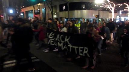 USA: Buildings vandalised at protest against unfair housing practices