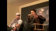 Twilight Convention Kellan Lutz And Peter Facinelli 2