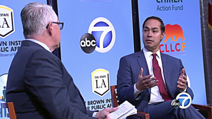 USA: Democratic presidential candidates discuss Latino and other issues at LA forum