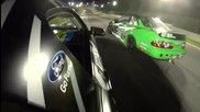 Дрифт мания - Vaughn Gittin Jr turns up the heat at Formula Drift Atlanta