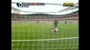 Arsenal : Man Utd 1:2 - C. Ronaldo Goal