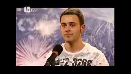 18г. Йордан Илиев изуми журито - Бг търси талант 1 chast