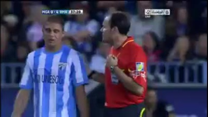 22.10.11. Фамозен гол на Кристиано Роналдо срещу Малага