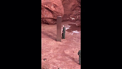 Life imitating art? Bizarre metal monolith discovered in Utah reminiscent of '2001: A Space Odyssey'