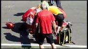 Фатален инцидент по време на старт на моторно състезание