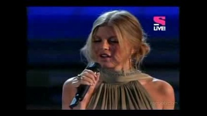 Fergie Finally Ft John Legend - Grammy 08
