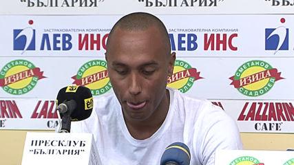 Паулиньо: Имаме сили да бием Лудогорец и ЦСКА