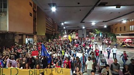 Brazil: Anti-Temer protesters march and occupy buildings in Sao Paulo