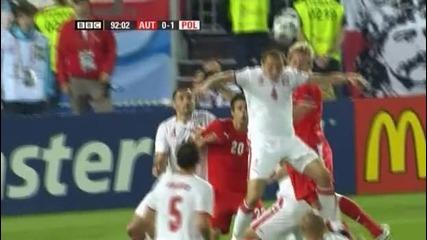 Austria 1 - 1 Poland - Vastic