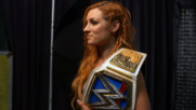 Becky Lynch poses for her SmackDown Women's Title photoshoot: WWE.com Exclusive, Sept. 16, 2018