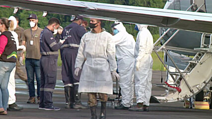 Brazil: Planes bring oxygen to Manaus and airlift patients to other states amid COVID surge