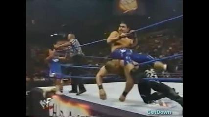 D-lo Brown vs. Taka Michinoku w/ Funaki - Wwf Heat 19.12.1999
