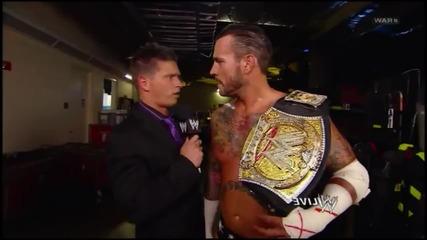 John Cena & Cm punk vs Daniel Bryan and Big Show 2012