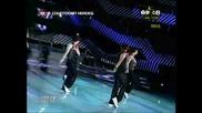 2pm {m!countdown Heroes} - Bad Boy + Rainism [mnet M!countdown 090604]