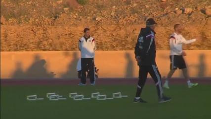 Рамос взе участие в последната тренировка на Реал