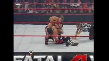 Fatal Four Way 2010 - Chris Jericho vs Evan Bourne