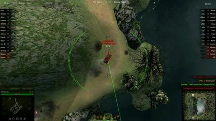 World of Tanks gameplay (#2)