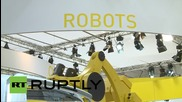 Germany: Bionic ants and robotic butterflies on show at Hanover Fair