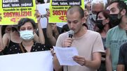 Turkey: Protesters gather in Istanbul to denounce govt response to wildfires