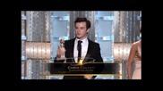 """Очарователната Лейтън Мийстър на наградите """" Златен Глобус """" 2011"""