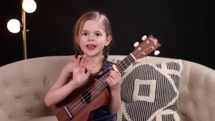 Can't Help Falling In Love ☀️ Elvis Cover by 6-year-old Claire Crosby