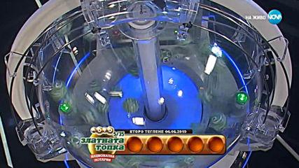 """Теглене на играта Лото 5/35 """"Златната топка"""" - 04.06.2019г."""