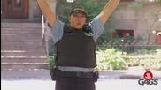 Не стреляйте, моля полицай съм - скрита камера