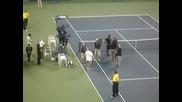 Federer Vs. Capdeville Us Open 2007