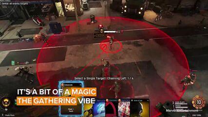 New marvel game: Midnight Suns