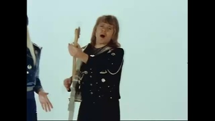 Waterloo by Abba,  1974 Eurovision Song Contest England,  Glam Style Costumes Dance Music Recording