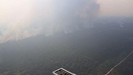 Brazil: Wildfires continue to rage across Amazon rainforest