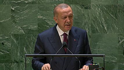 UN: Turkey ready to ratify Paris climate deal, Erdogan tells UNGA