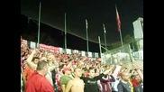 Бешикташ 1 - 0 Ц С К А (16.09.2010) - Да запеем дружно песента