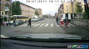 Пешеходец срещу бързак