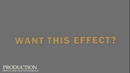 Sony Vegas Effect #10
