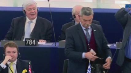 France: Golden Dawn MEP ejected from European Parliament