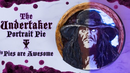 We made an Undertaker pie for Thanksgiving